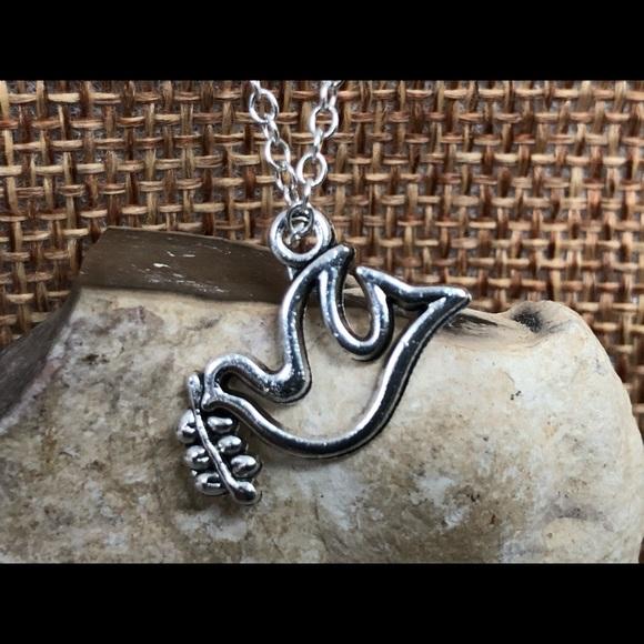 Peace Dove Pendant Necklace